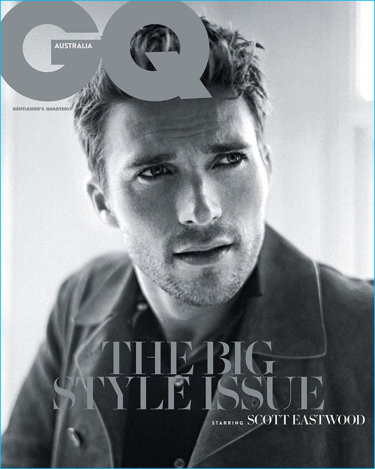 Scott Eastwood covers the September 2016 issue of GQ Australia.