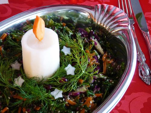 76 best raw vegan holidays images on pinterest raw food raw vegan raw food blog sesame kale salad forumfinder Gallery