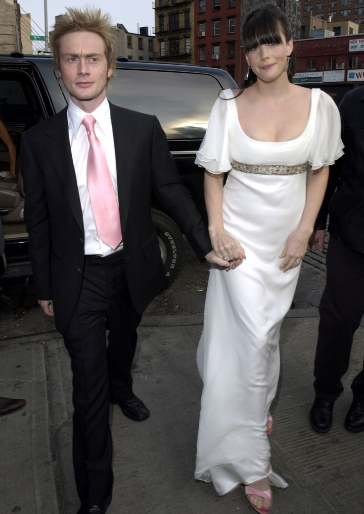 These Celebs Got Married in the Early 2000s and theNostalgia Is REAL - Liv Tyler and Royston Langdon from InStyle.com