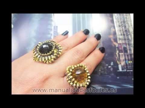 Como hacer anillos y pendientes con cremalleras
