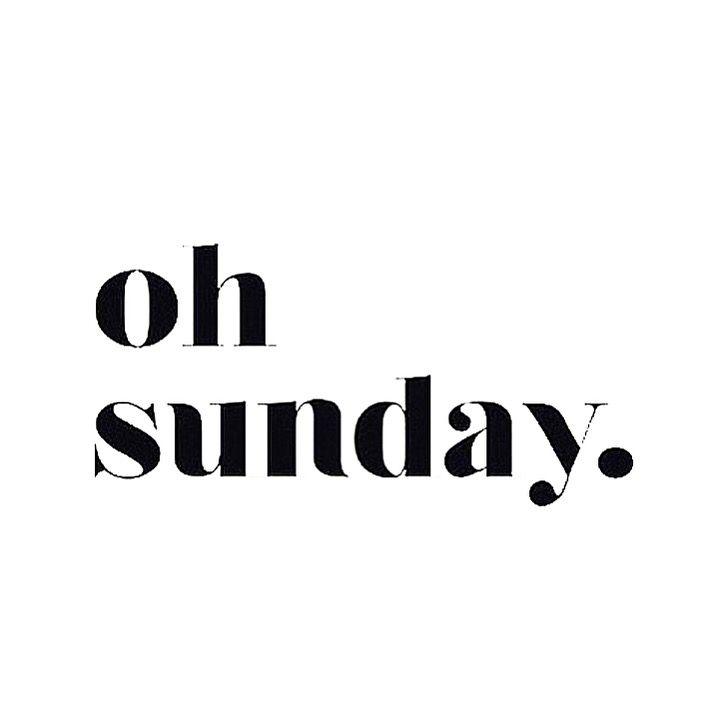 Oh Sunday | #kisterss