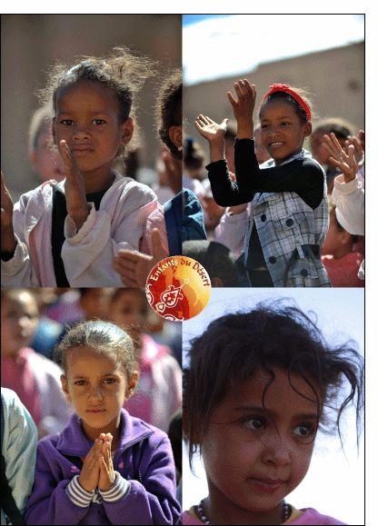 Carte Petites filles qui dansent pour envoyer par La Poste, sur Merci-Facteur !