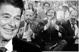 Ronald Reagan made it all worse: How Republicans — the real party with their hands out — convinced white America that government was out to get them