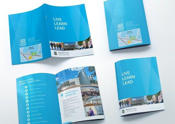 Mannix College Brochure Design | Graphic Design | Oraco Marketing