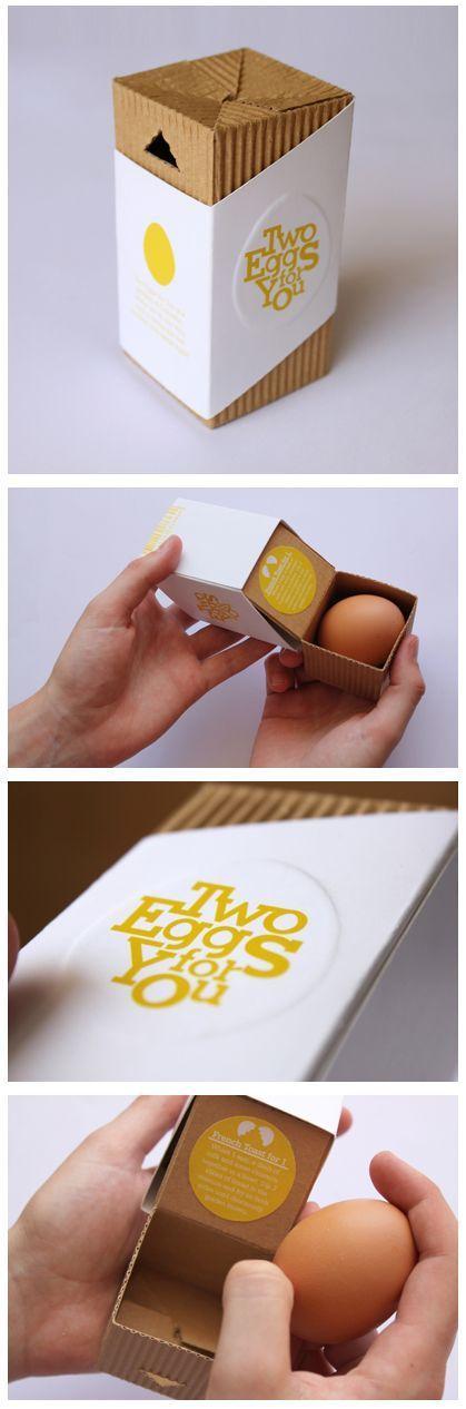 Inspiration graphique Tow Eggs for you : 25 packagings originaux et innovants à découvrir | Blog du Webdesign