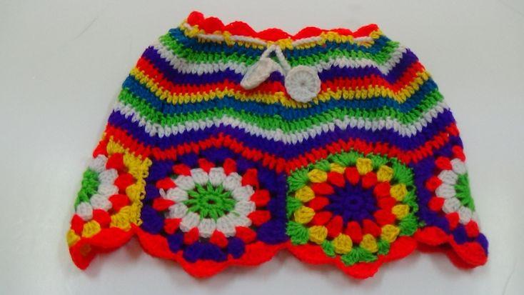 Crochet Stitch Edc : CROCHET CHEVRON STITCH SKIRT-2 Crochet, Skirts and Diy crochet
