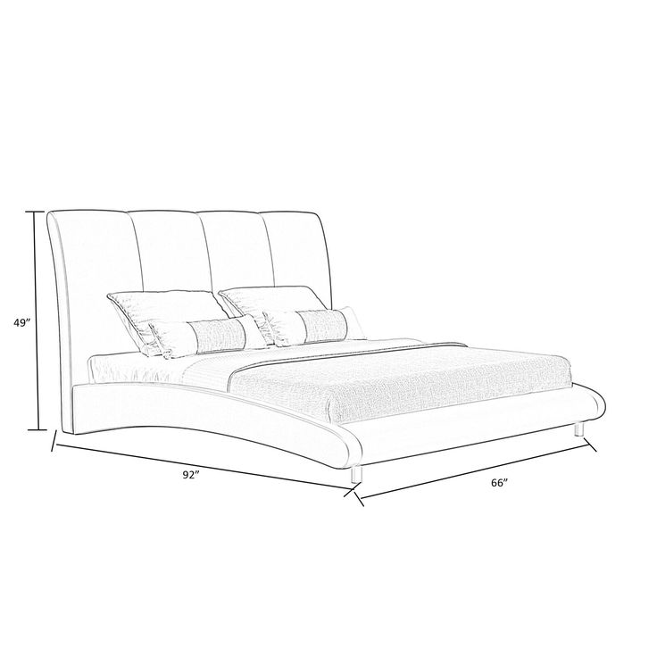 Beacon Upholstered Low Profile Platform Bed Upholstered Platform Bed Contemporary Bed Frame Platform Bed