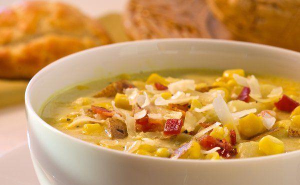 Cheddar Corn Chowder-barefoot contessa recipe. Best corn chowder ever.