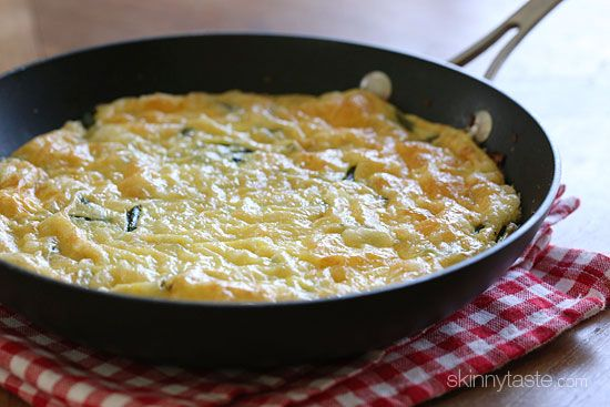 Spring Asparagus and Swiss Cheese Frittata - a delicious combination ...