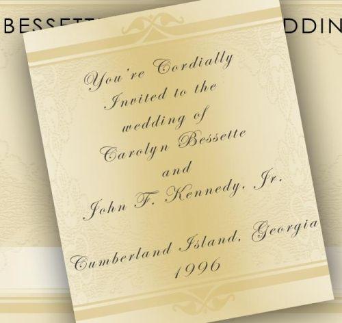 invitation to thier wedding