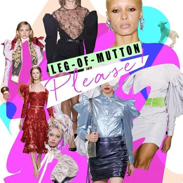 #ELLEtalk 이름하여 '양다리 소매'!  #생로랑 컬렉션을 필두로 많은 브랜드들이 불룩한 팔뚝 모양 소매에 홀딱 빠졌답니다. 파워 수트 80년대 디스코 등 지금 가장 핫한 트렌드에 모두 어울리죠  via ELLE KOREA MAGAZINE OFFICIAL INSTAGRAM - Fashion Campaigns  Haute Couture  Advertising  Editorial Photography  Magazine Cover Designs  Supermodels  Runway Models