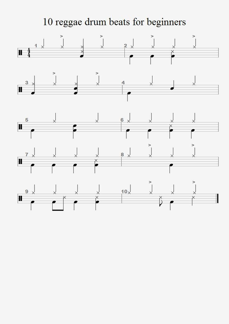 Free Drum Lesson: Beginner Lesson 2 – Basic Drum Beats And ...