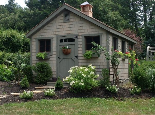 "One day we will have a ""shed"" devoted solely to creative endeavors like crafts, music, gardening, etc."