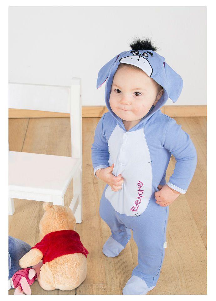 Eeyore jersey romper By Disney Baby