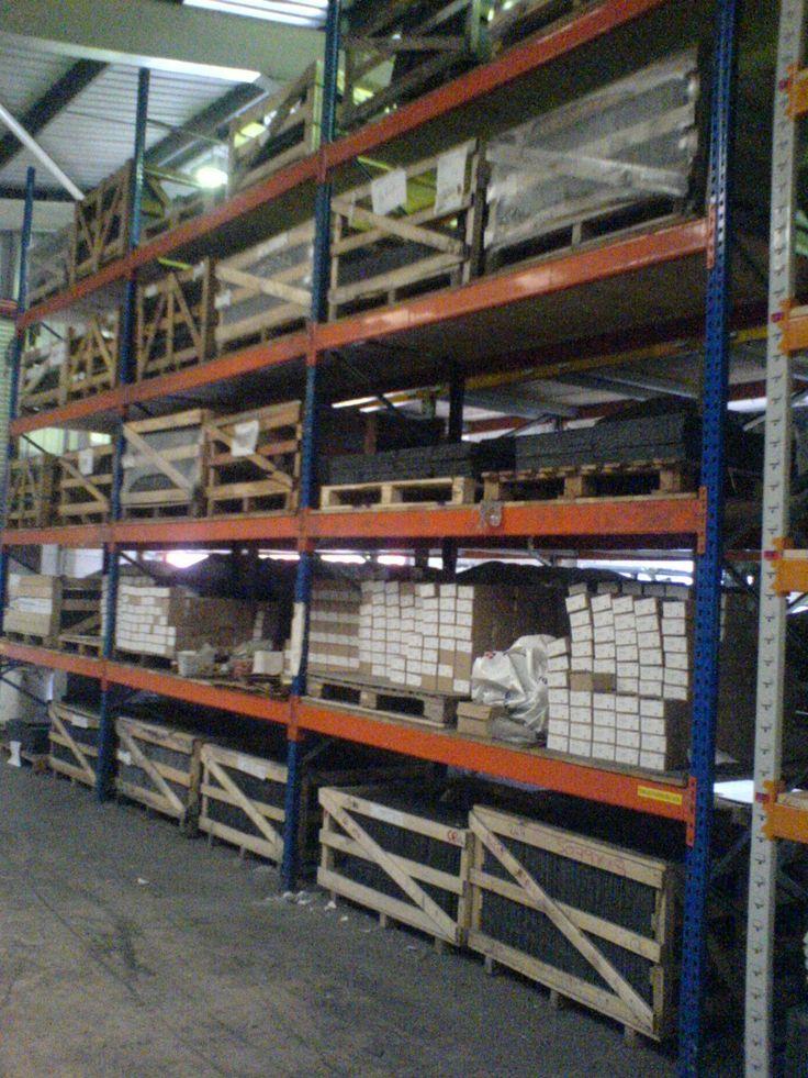 Esmena pallet racking installed by Storage Design Limited