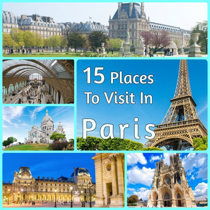 My visit to paris french