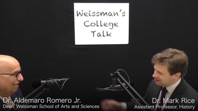 """This is a video version of the radio interview for the program """"Radio Talk"""" by. Dr. Aldemaro Romero Jr. with Dr. Mark Rice of the Department of History at the Weissman School of Arts and Sciences at Baruch College about the myths and realities of Inca ruins of Machu Picchu"""