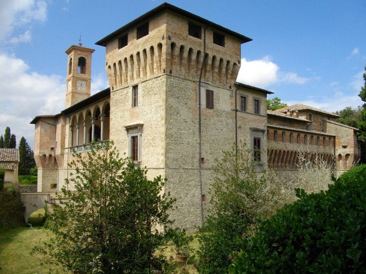 San Giustino (PG) • Castello Bufalini | Bufalini Castle  #AltaUmbria #Umbria
