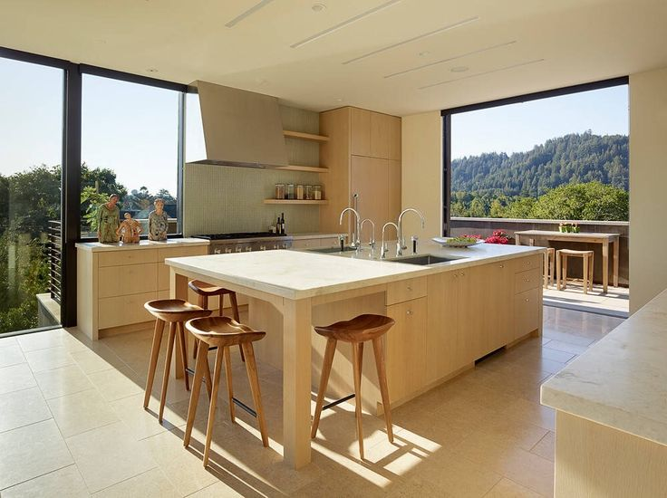 Contemporary Private Residence Located In San Anselmo, California, Designed  By Robert Stiles Architecture.