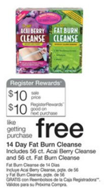 FREE Acai Berry Cleanse At Walgreens Plus Money Maker!