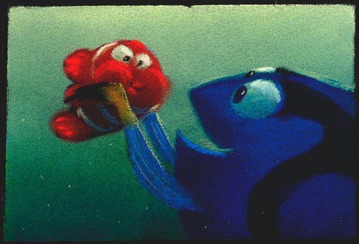 Finding Nemo - concept art