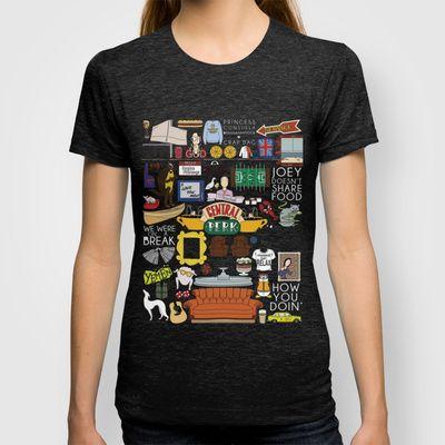 Friends TV Show Print T-shirt