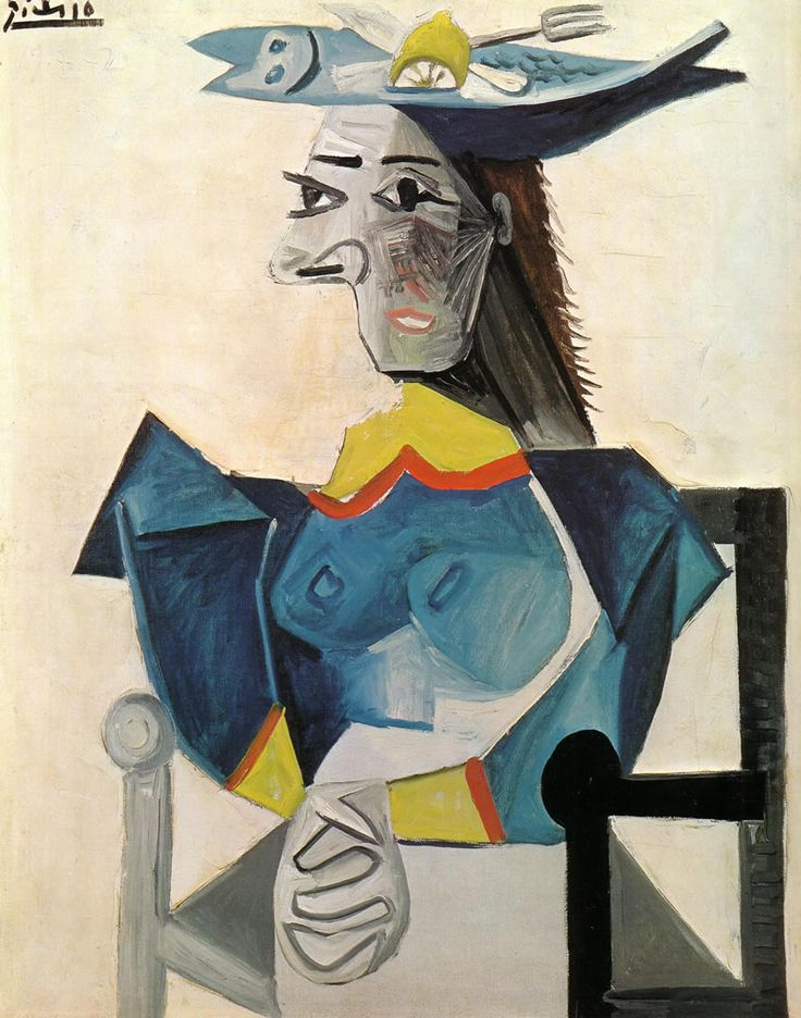 Pablo Picasso - Woman In A Fish Hat, 1942