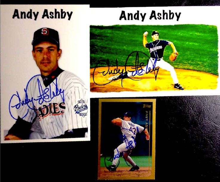 Andy Ashby, SP Padres, Dodgers, TTM