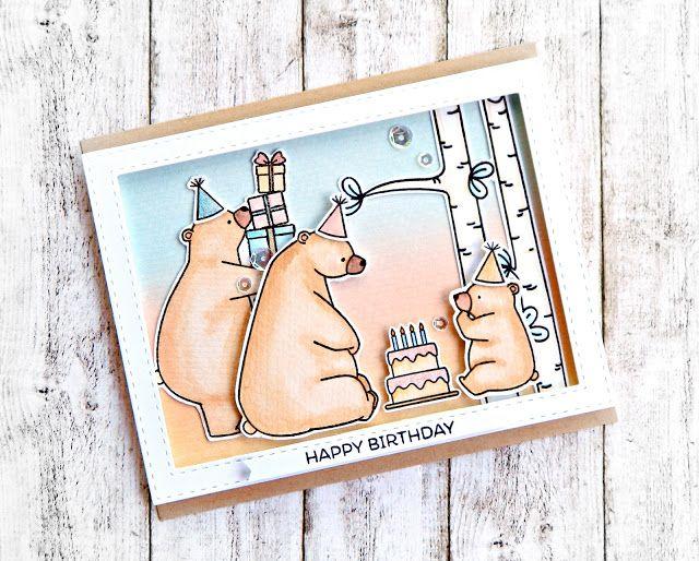 RL Design - Invitatii si felicitari Handmade : Happy Birthday - MFT Handmade Card