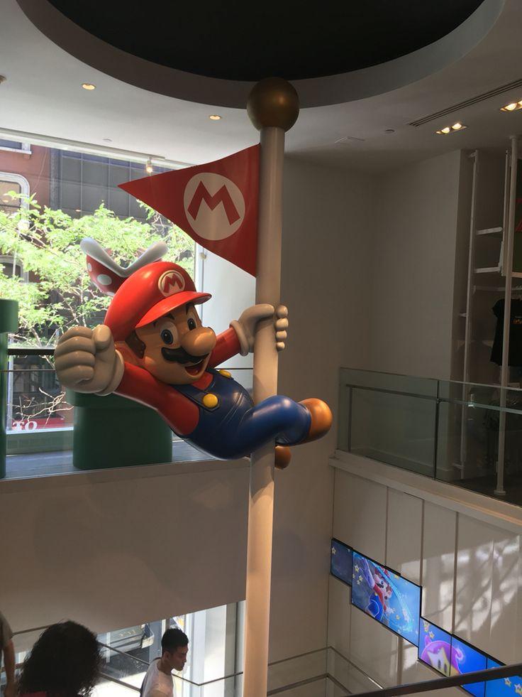 Mario Nintendo Shop in New York City