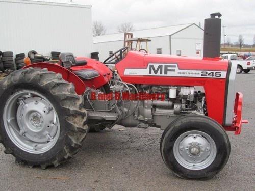 Massey Ferguson 245 Diesel Farm Agriculture Tractor Nice | eBay