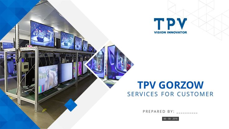 PowerPoint presentation - TPVision. More presentations on www.powerprezentacje.pl