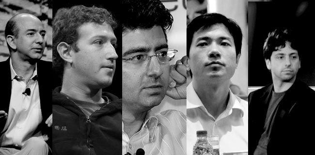 Iedereen droomt ervan: rijk worden op internet met dat ene unieke idee! Dagelijks worden er miljonairs geboren op internet en van tijd tot tijd staat er zelfs een milJARdair op. Hier de vijf meest succesvolle:    Bron: De vijf succesvolste internetondernemers! > http://blog.yourhosting.nl/de-vijf-succesvolste-internetondernemers/