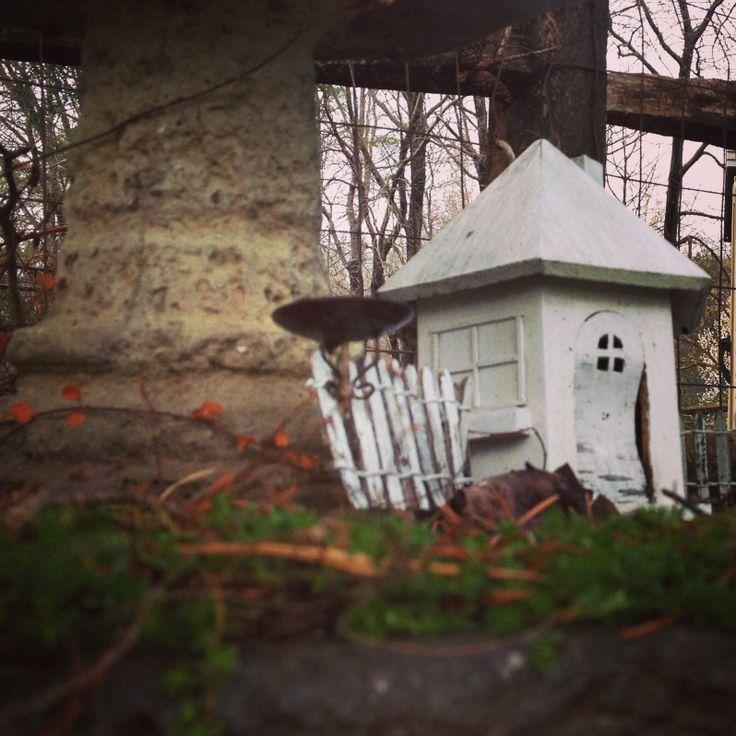 Abandoned fairy house