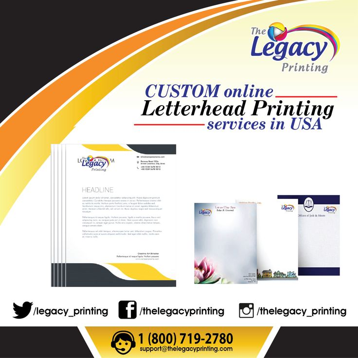 25+ beautiful Letterhead printing ideas on Pinterest Letterhead - professional letterhead format