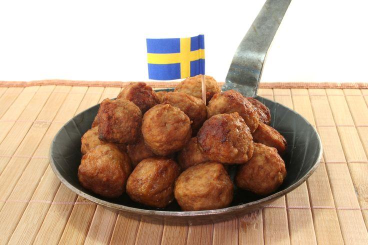 Swedish Meatballs! Svenska Köttbullar!