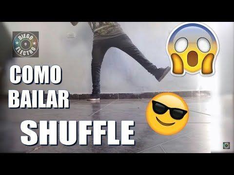 TUTORIAL APRENDER A BAILAR SHUFFLE/ELECTRO #2 (5 pasos de electro) [2016-2017]   Diego Electro. - YouTube