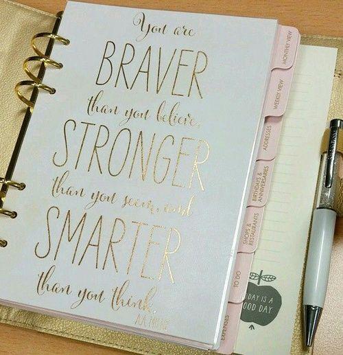 Imagen de brave, gold, and planner