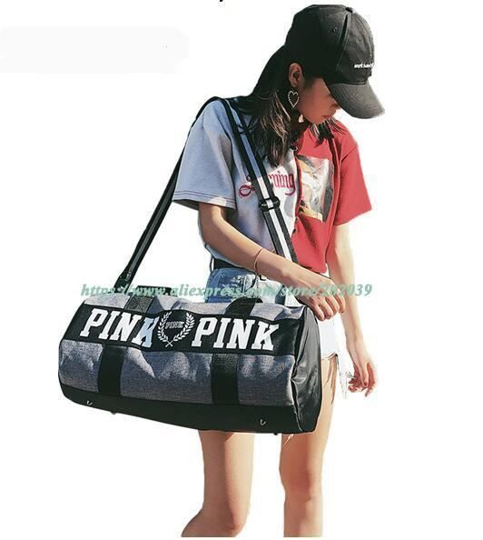 Women Duffle Travel Bag  High Quality Polyester Handbag Gym/Sport Travel Bag