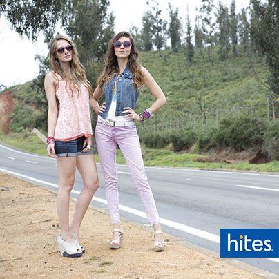 Arma un look romántico y suave. Short, faldas, camisetas y pantalones, ninguna prenda escapará a estos tonos, de los más populares para el verano.