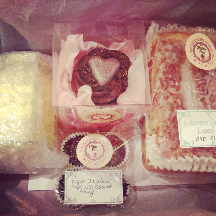 Mothers' day postal boxes - all gluten and dairy free