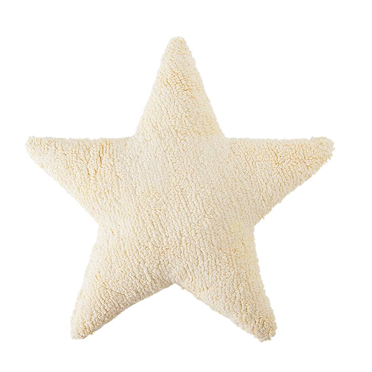 Star Vanilla / Estrella Vainilla  #washablecushions #lorenacanals #kidsdecoration