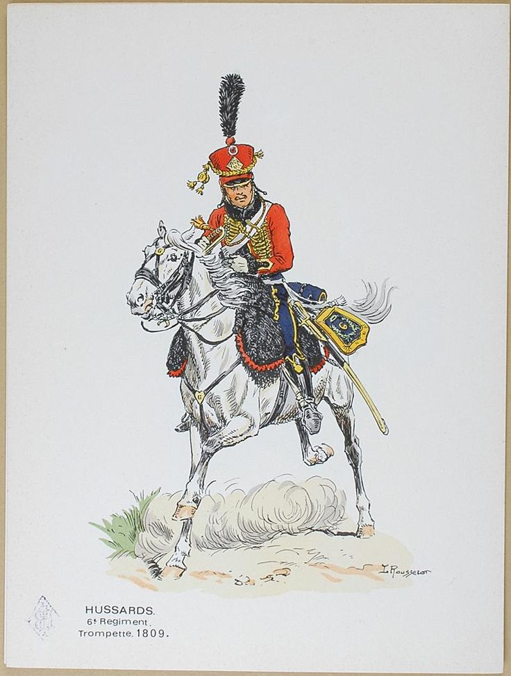 ROUSSELOT - Trumpeter 5th hussars 1809