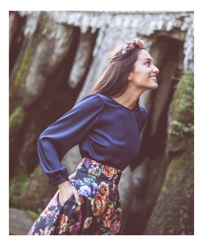 Mejores 40 imágenes de Top y blusas Aluét en Pinterest | Blusas ...
