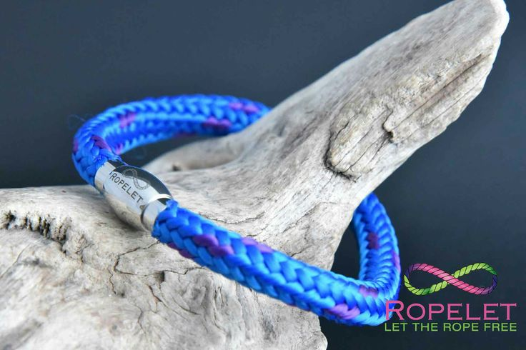 Did you know we ,are our Ropelets to your order so you get a Ropelet just how you like it at www.ropelet.co.uk.  This 6mm blue with a hint of purple is waiting for you in our online shop.  We have rope and leather bracelets at great prices, made in the UK and shipped worldwide to you.  Come shopping with us today for great #bracelets. #ropelet #ropebracelet #bracelet #wristband #leatherbracelet #climbingbracelet #skateboarding #snowboarding #surferbracelet #paddleboarding #mensbracelet