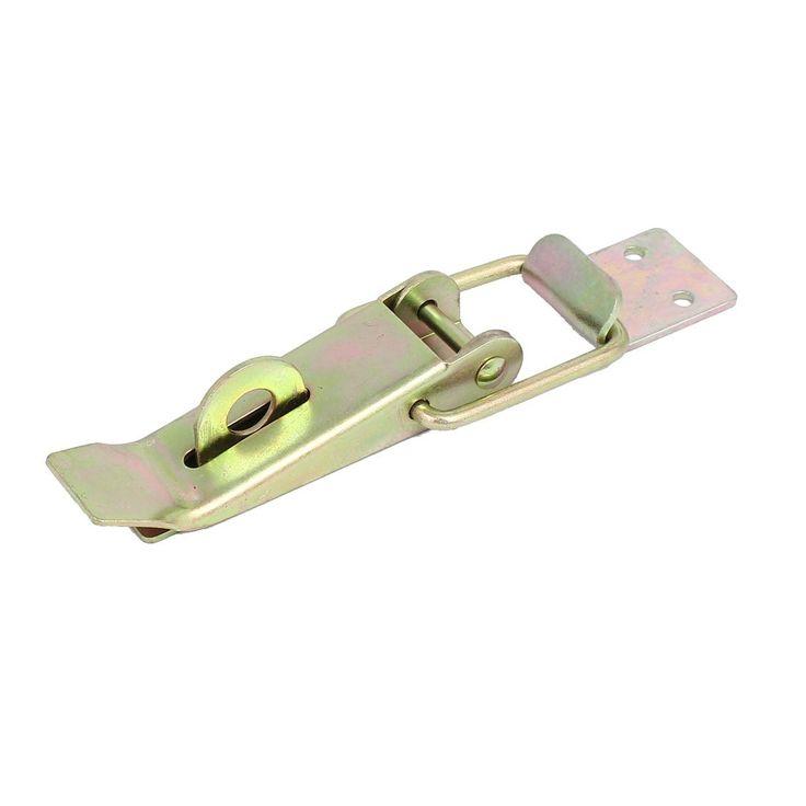 Toolbox Equipment Box Metal Yellow Zinc Plated Toggle Latch Hasp 140mm Length