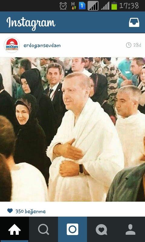 Recep Tayyip Erdoğan - Mekke
