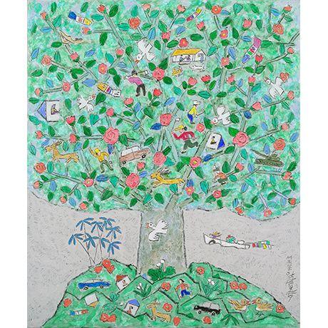 이왈종 제주생활의 중도 3 - Art Works : PRINT BAKERY  Lee walchong