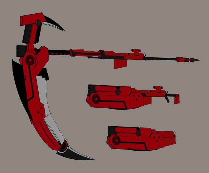 "RWBY Crescent Rose ""The High Velocity Sniper Scythe"""