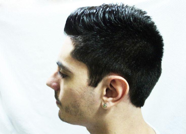 After the cut - Left side. Modelo: Matias.